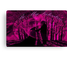 BE MY VALENTINE-  Art + Products Design  Canvas Print
