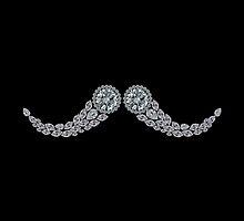 Diamond Moustache by eldonshorey