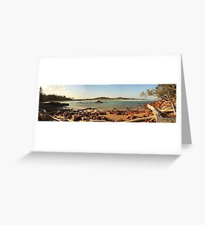 Red Rock Panoramic Greeting Card