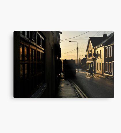 Wofle Tone Street Metal Print