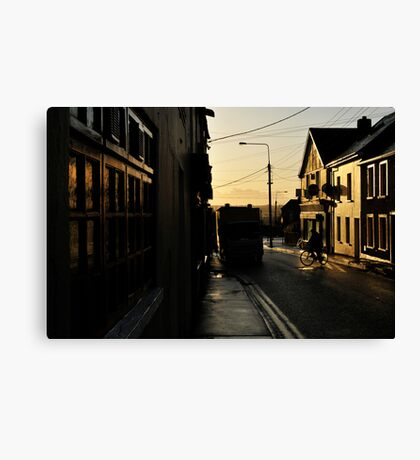 Wofle Tone Street Canvas Print
