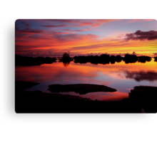 Reflecting Paradise Canvas Print