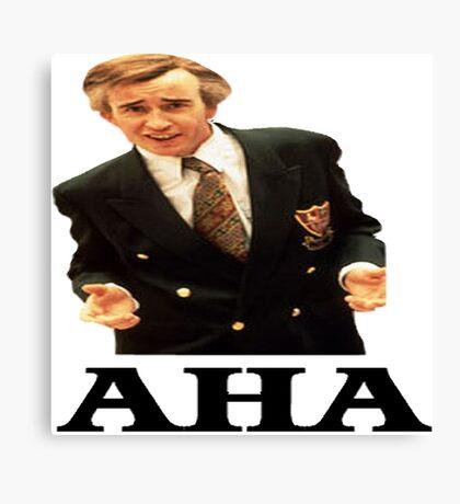 "Alan Partridge ""AHA"" Canvas Print"