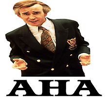 "Alan Partridge ""AHA"" Photographic Print"
