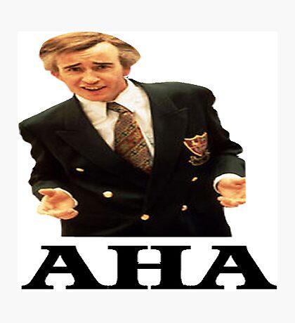 "Alan Partridge ""AHA"" Photographic Print"