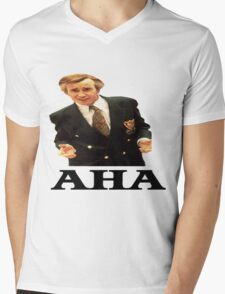 "Alan Partridge ""AHA"" Mens V-Neck T-Shirt"