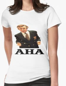 "Alan Partridge ""AHA"" Womens Fitted T-Shirt"
