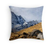 Annapurna South I Throw Pillow