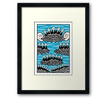 It's nice up here Framed Print