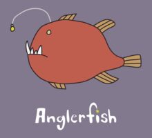 A for Anglerfish Kids Clothes