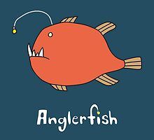A for Anglerfish by Gillian J.