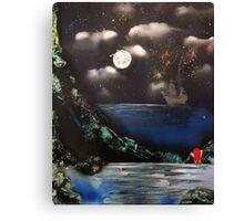 La Petite Sirène Canvas Print