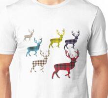 Tartan Stag T-Shirt Unisex T-Shirt