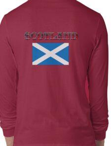Scotland T-Shirt Long Sleeve T-Shirt