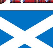 Scotland T-Shirt Sticker