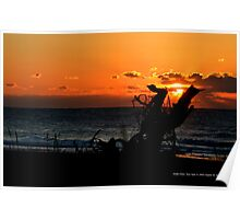 A New Day | Smith Point, New York  Poster