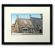 Tea Rooms Framed Print