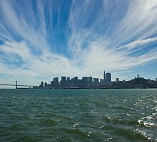 San Fran from the  Water by bellafreck