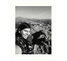 I'm On Top Of The World! Art Print