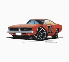 Dodge Charger - General Lee by Richard Yeomans