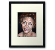 Portrait of Sao Framed Print