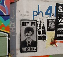 Melbourne Stencils by Louise Fahy