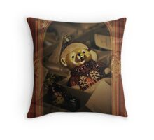 Barely Ready for Christmas Throw Pillow
