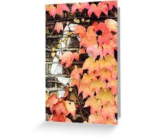an impression of autumn Greeting Card