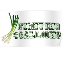 Fighting Scallions - Sabrina, The Teenage Witch Poster