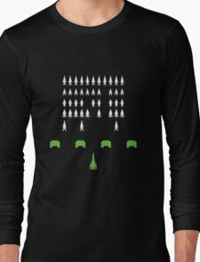 Mass Effect - Space Invaders Long Sleeve T-Shirt