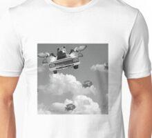 A walk between the clouds. Unisex T-Shirt