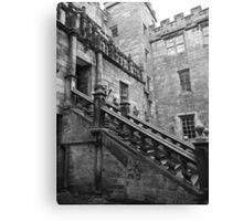 Steps to the Castle Canvas Print