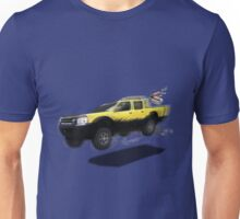 VivaChas Beach Adventure and the Yellow Dog Unisex T-Shirt