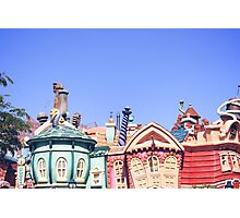 Toon Town  Photographic Print