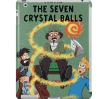 Tintin and the Seven Crystal Balls fan cover iPad Case/Skin