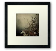 _ winter is coming _ Framed Print