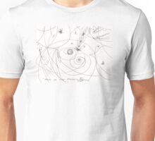 WHERE ONE BEGINS OTHER ENDS(C2015)(SKETCH) Unisex T-Shirt