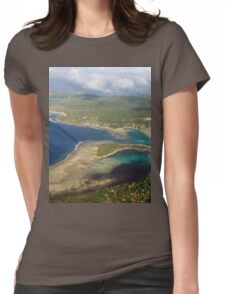 an awesome Vanuatu landscape Womens Fitted T-Shirt