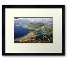 an awesome Vanuatu landscape Framed Print
