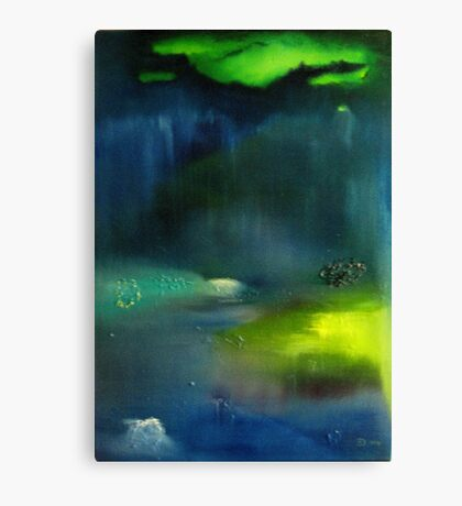 "Lost Islands in Paradise ""Maldives"" Canvas Print"