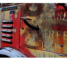 International Truck Photographic Print
