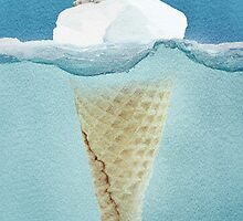 polar ice cream cap by Vin  Zzep
