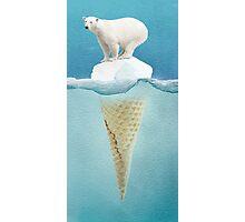 polar ice cream cap Photographic Print