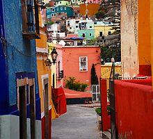 Guanajuato Lane by Skip Hunt