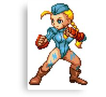 Cammy (NxC) Canvas Print
