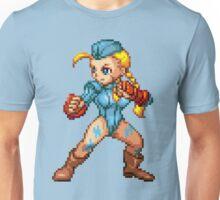 Cammy - Street Fighter Sprite Unisex T-Shirt