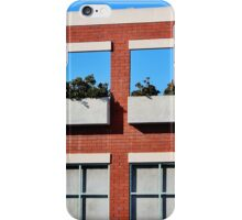 Planter Box Facade iPhone Case/Skin