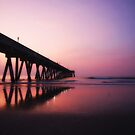 Sunrise - Wrightsville Beach by David Edwards