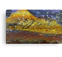 Desert-flying birds/ abstract 122-  Art + 22 Products Design  Canvas Print