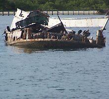 Sunken Ship by Benjamin Sloma